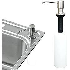 white soap dispenser for kitchen sink soap dispenser for kitchen sink built in soap dispenser for kitchen