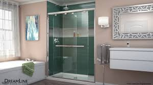 Frameless Shower Door Sliding by Dreamline Encore Frameless Shower Door Sliding Opening Youtube