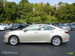 lexus metallic 2013 lexus es 300h hybrid in satin cashmere metallic 036688