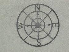 wood compass wall compass wall decor ebay