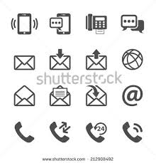 Telephone Icon For Business Card Email Icon Stock Images Royalty Free Images U0026 Vectors Shutterstock