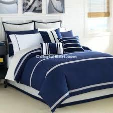 Navy Blue Bedding Set Blue Bed Sets Blue Duvet Sets Podemosmataro Info