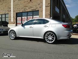 custom lexus is 250 gallery niche wheels