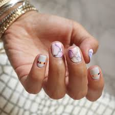 9 marble nails that will instantly upgrade your mani brit co