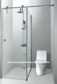 bathroom partition glass interiors design