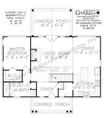 large cottage house plans 3 bedroom 2 bath southern style house plan with wrap around porch