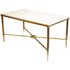 coffee table brass and stainless steel coffee table with glass