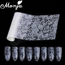 deco ongle en gel noir et blanc achetez en gros blanc dentelle ongles en ligne à des grossistes