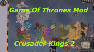Game Of Thrones World Map by Crusader Kings 2 Game Of Thrones Mod Timelapse Youtube