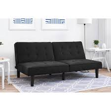 dorel home sunset hills futon gray linen walmart com