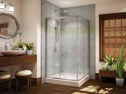 Small Bathrooms With Corner Showers Large 16 Bathroom With Corner Shower Only On Small Bathroom Ideas