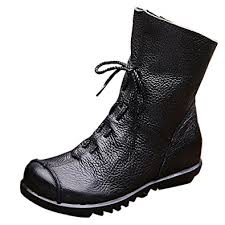 handmade womens boots uk fur lined handmade leather ankle boots winter flat