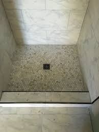 schluter metal tile edging bathroom remodel pinterest