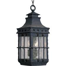 Nantucket Ceiling Light Maxim Lighting Nantucket 3 Light Country Forge Outdoor Hanging