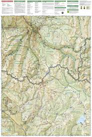 Salida Colorado Map by Collegiate Peaks Wilderness Area National Geographic Trails