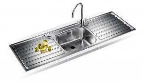 Franke UK Double Drainer Single Bowl Sink UKX  Flow Sinks  Taps - Kitchen sink double bowl double drainer