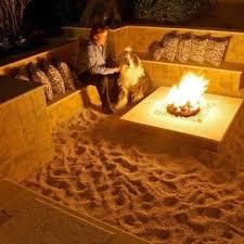 Backyard Firepit Ideas Best 25 Beach Fire Pits Ideas On Pinterest Lowes Easy Fire Pit