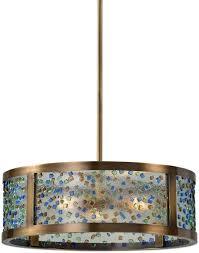 lighting stores in st louis mo uttermost lighting fixtures 22092 fuso 3 light drum pendant best
