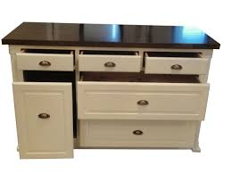 white kitchen island butcher block top modern kitchen island