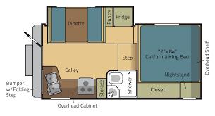 rv camper floor plans eagle cap truck camper models u0026 floor plans a premium rv