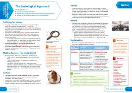 language setting pattern used in society aqa gcse sociology all in one revision and practice collins gcse 9