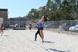 girls beach volleyball sets up a chance for playoffs u2013 the commander