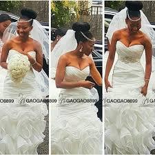 south wedding dresses 2016 ruffles backless mermaid wedding dresses with