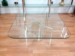 contemporary lucite coffee table vintage
