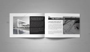 Minimal Modern Black U0026 White Architecture Brochure On Behance