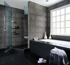 small bathroom gray white bath up with glass door and silver ideas