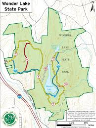 Map Of New York State Parks by Wonder Lake State Park Maplets