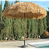11 Foot Patio Umbrella Amazon Com Tropishade 11 Foot Thatched Market Umbrella Patio
