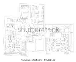 Floor Plan Drawing Symbols Office Floor Plan Stock Images Royalty Free Images U0026 Vectors