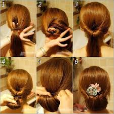 How To Do Easy Hairstyles Step By Step by Hairstyles For Women Tutorials Amazing Hairstyle Tutorial To Make
