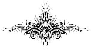 tribal yin yang design by forace