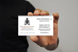 Lawyer Business Card Design Business Card Design Company Toronto New Design Group Inc New