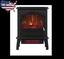 Infrared Quartz Fireplace by Black Electric Fireplace Ebay