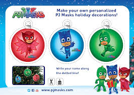 http pjmasks ornaments pj masks