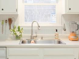 Kitchen Back Splash Ideas How To Install A Pegboard Backsplash How Tos Diy