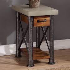 legends furniture end tables legends furniture steunk collection zspk 4400 steunk side