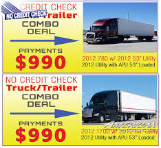 used volvo tractor trailers tractors semis for sale
