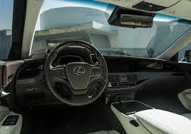 lexus ls xf 50 2018 yeni lexus ls 500 20 oto kokpit