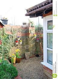 Small Cottage by Small Cottage Courtyard Garden Stock Photo Image 38780315