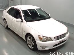 toyota lexus altezza for sale 1999 toyota altezza white for sale stock no 43759 japanese
