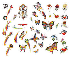 free designs butterfly tattoos free ideas