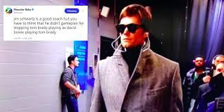 Tom Brady Memes - best super bowl 52 meme tom brady s pre game trench coat