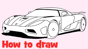 koenigsegg one 1 logo how to draw a car koenigsegg agera r step by step supercar drawing