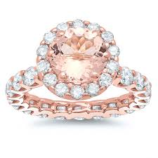 wedding rings for sale morganite gold eternity engagement ring