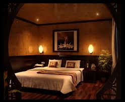 simple romantic bedroom with wood walls also candle decor and dim