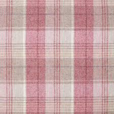 pink tartan pink tartan curtains moon kincraig fabric sorbet shop